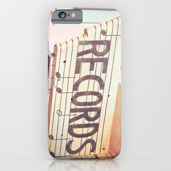 Records iPhone & iPod Case