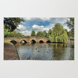 5 Arches of Bakewell Bridge Rug