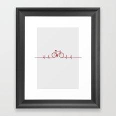Bike Beat Framed Art Print