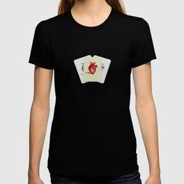 Bloodshot Heart T-shirt