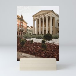 Public theater in Subotica, Serbia / Architecture / Color Mini Art Print