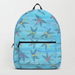 Sweet Dragonfly Skies Backpack