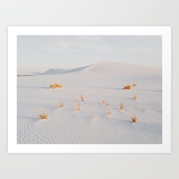 White Sands National Monument Art Print