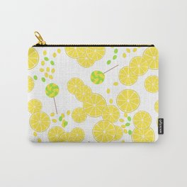 Candy sweets of lemon lollypops Carry-All Pouch