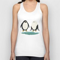 suit Tank Tops featuring bathing suit by gotoup
