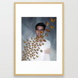 Migración Monarca - Monarch Migration Framed Art Print