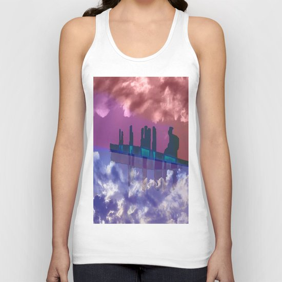 To Venus in a Ship / 28-10-16 Unisex Tank Top