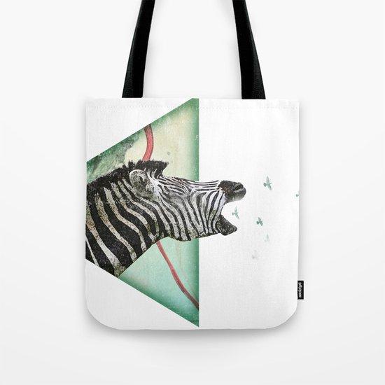 roaring silence Tote Bag