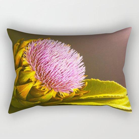 artichokes flower Rectangular Pillow