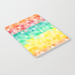 Rainbow triangles Notebook