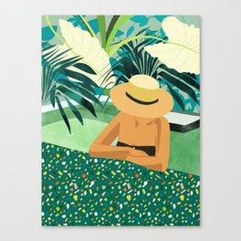 Chill #illustration #travel Canvas Print