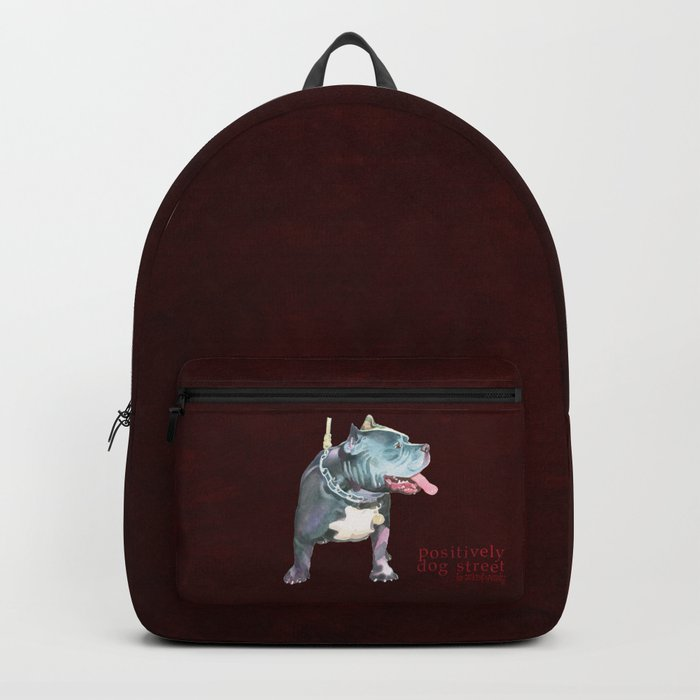 Staffordshire Bull Terrier Backpack