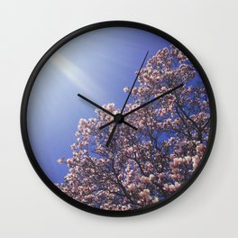 Reaching for Rays Wall Clock