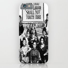 Lips That Touch Liquor Shall Not Touch Ours iPhone Case