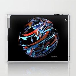 Red & Blue Ball Laptop & iPad Skin