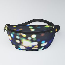 Twinkly starry night texture Fanny Pack