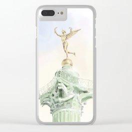 Colonne de Juillet , Place de la Bastille Clear iPhone Case