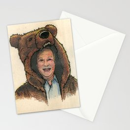 Bear Suit Marc Stationery Cards