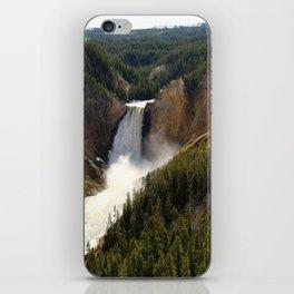 Majestic Upper Falls - Yellowstone Valley iPhone Skin