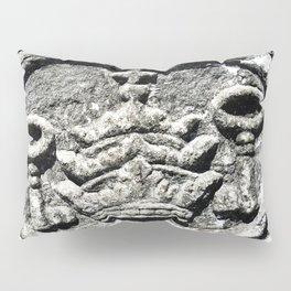 Ancient Church Carvings Pillow Sham
