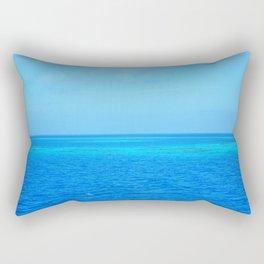 Blue Ocean Rectangular Pillow