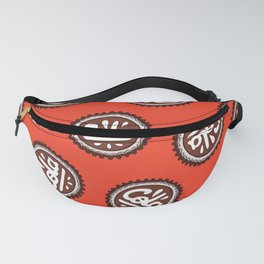Cola Bottle Top Pattern Fanny Pack