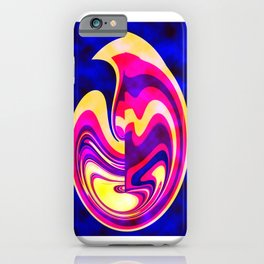 Abstract Cat iPhone Case
