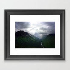 Mystic Mountains Framed Art Print
