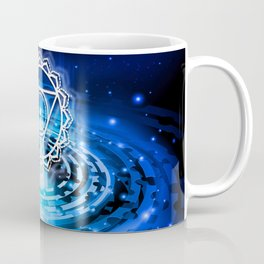 Cosmic Throat Chakra Tapestry Coffee Mug