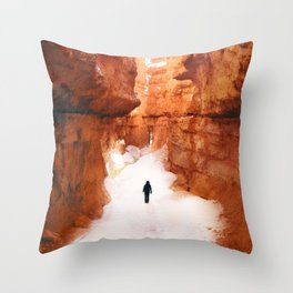 Double Helix Changing Woman Throw Pillow