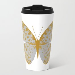 Silver Butterfly Travel Mug