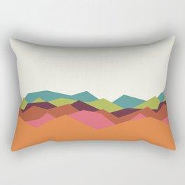 Chevron Mountain Rectangular Pillow