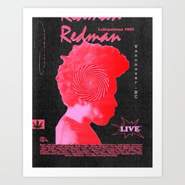 Redman Art Print