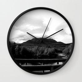 Katahdin Lookout Wall Clock