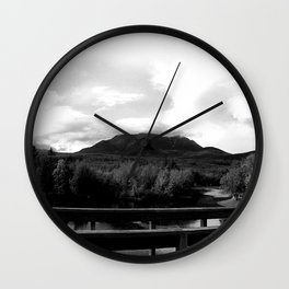 Katahdin Lookout Wall Clock