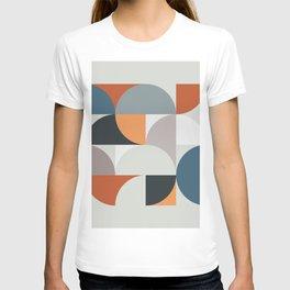 Mid Century Geometric 11 T-shirt