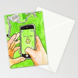 Tokemon Go Stationery Cards
