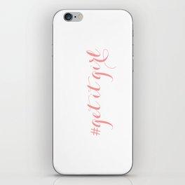 # Get It Girl // Peony iPhone Skin
