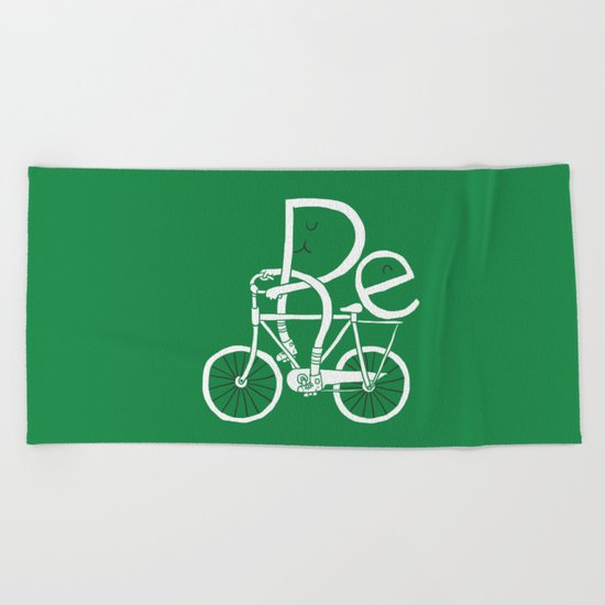 Re-cycling Beach Towel