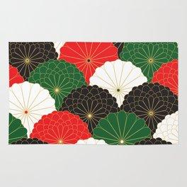 Japanese Chrysanthemum Rug
