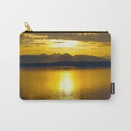 Sunset at Glacier NP Carry-All Pouch