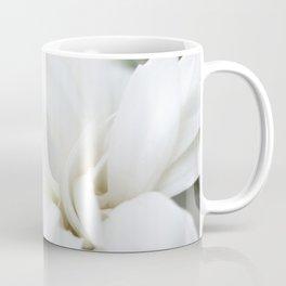 Snow White Flowers on a Dark Background #decor #society6 #buyart Coffee Mug