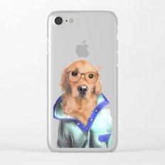Hey Buddy Clear iPhone Case