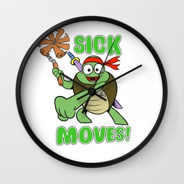 Sick Moves! Wall Clock