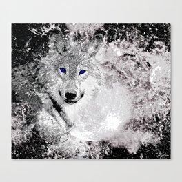 WOLF#5 Canvas Print