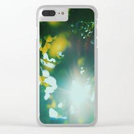 Summer Sun! Clear iPhone Case