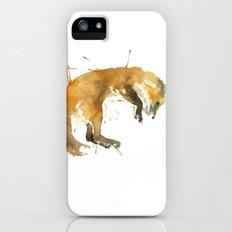 Sleepy Fox iPhone (5, 5s) Slim Case