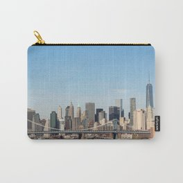 Rooftop View of Manhattan Carry-All Pouch