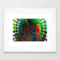 portal 2 Framed Art Prints featuring Spiral Portal 2 by Vertigosquare