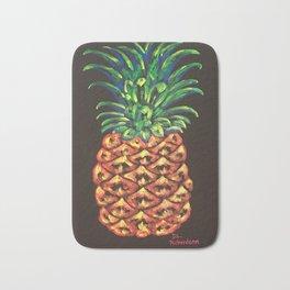 Electric Pineapple Bath Mat